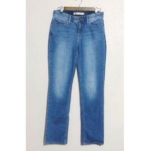 Levi's 525 Perfect Waist Straight Leg Blue Jeans